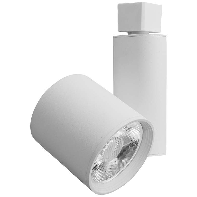 Elco Led Gordian White Cylinder 40 Watt 3000k Track Head