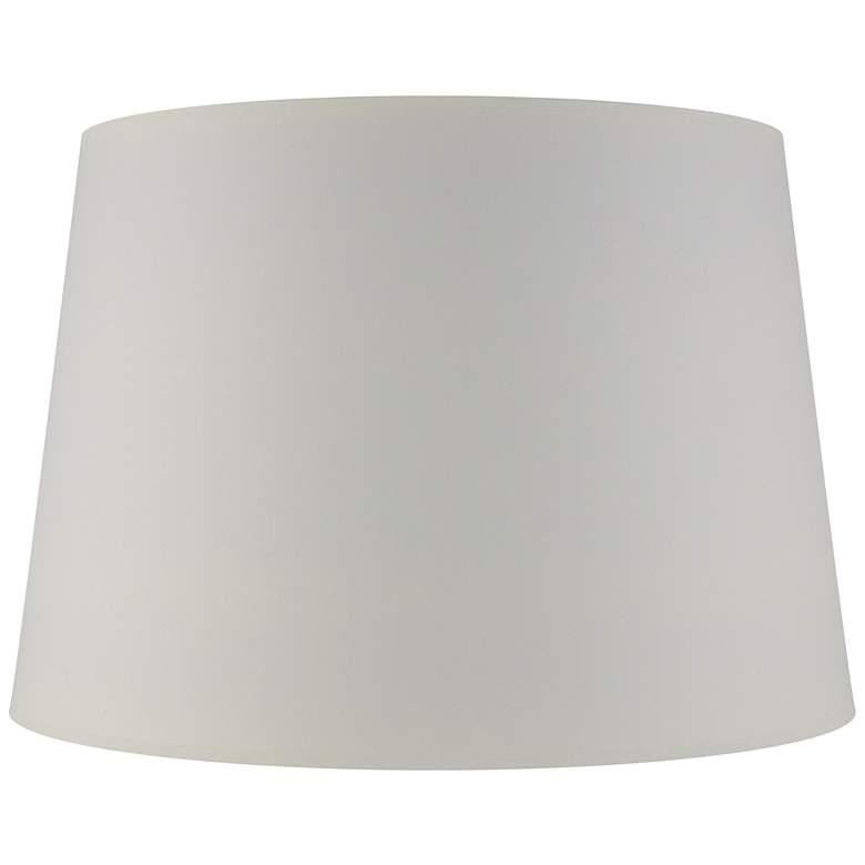 Matte Seattle Mist Paper Drum Lamp Shade 11x14x10
