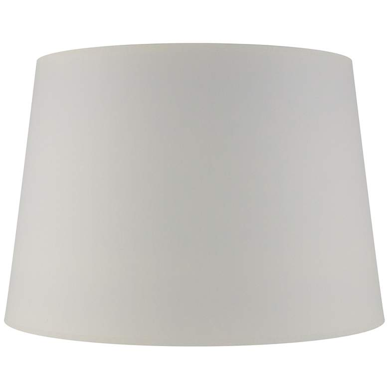 Matte Seattle Mist Paper Drum Lamp Shade 13x16x10
