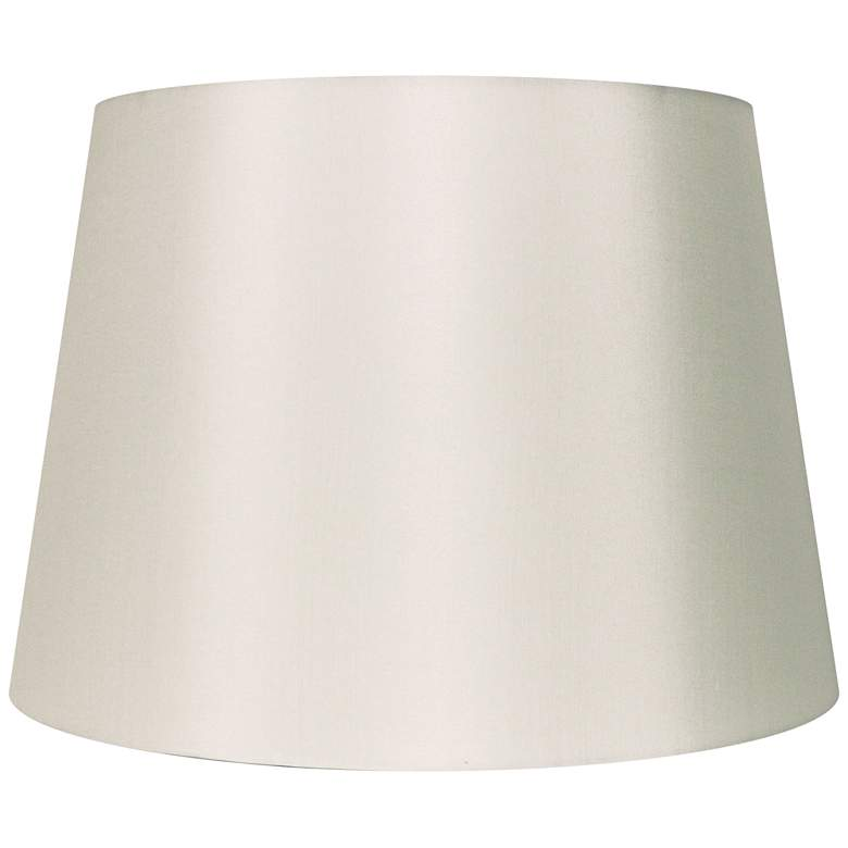 Eggshell Silk Drum Lamp Shade 15x18x12 (Spider)