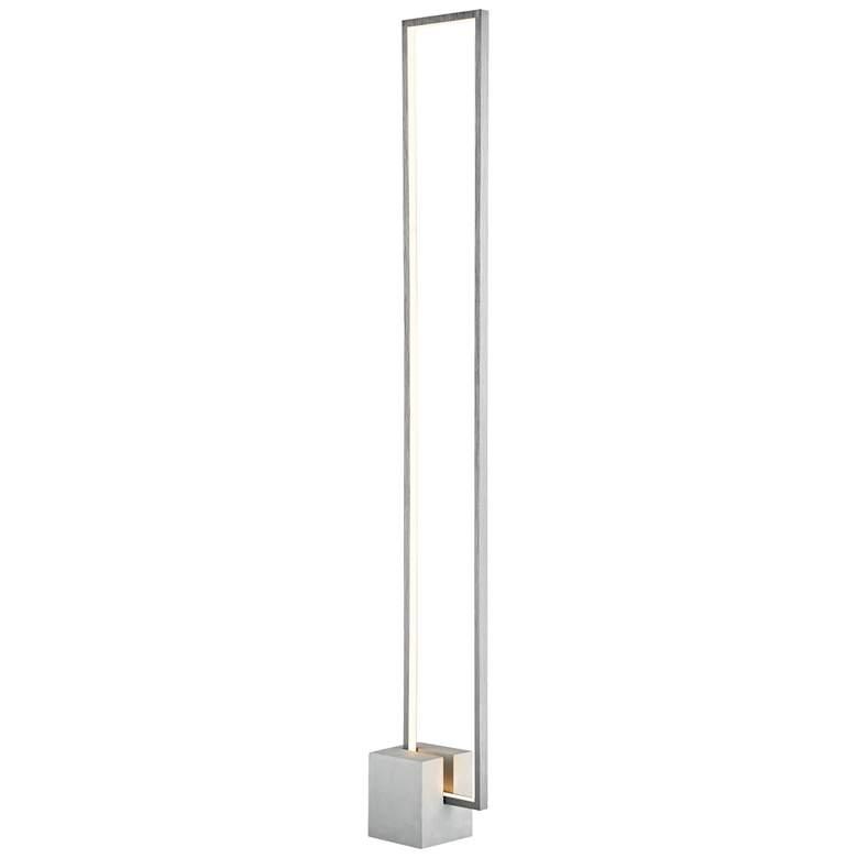 Lite Source Fantica Gray Metal LED Floor Lamp