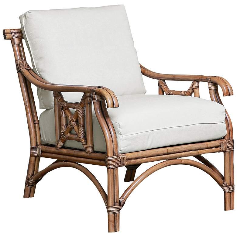Panama Jack Plantation Bay Honey Rattan Lounge Chair