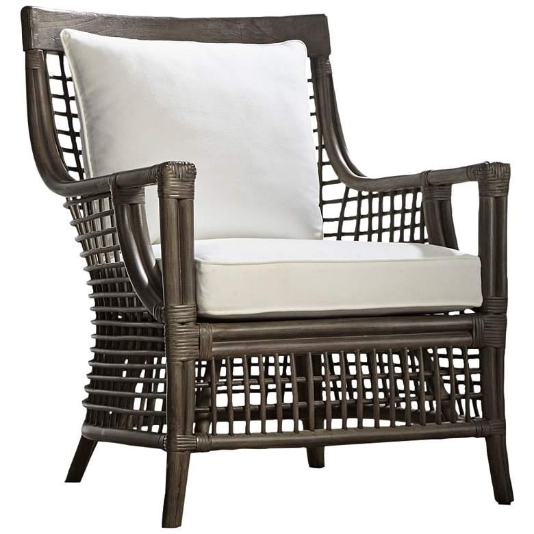 Panama Jack Millbrook Kubu Gray Rattan Lounge Chair