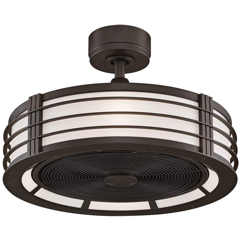 """23"""" Fanimation Beckwith Oil-Rubbed Bronze LED Ceiling Fan"""