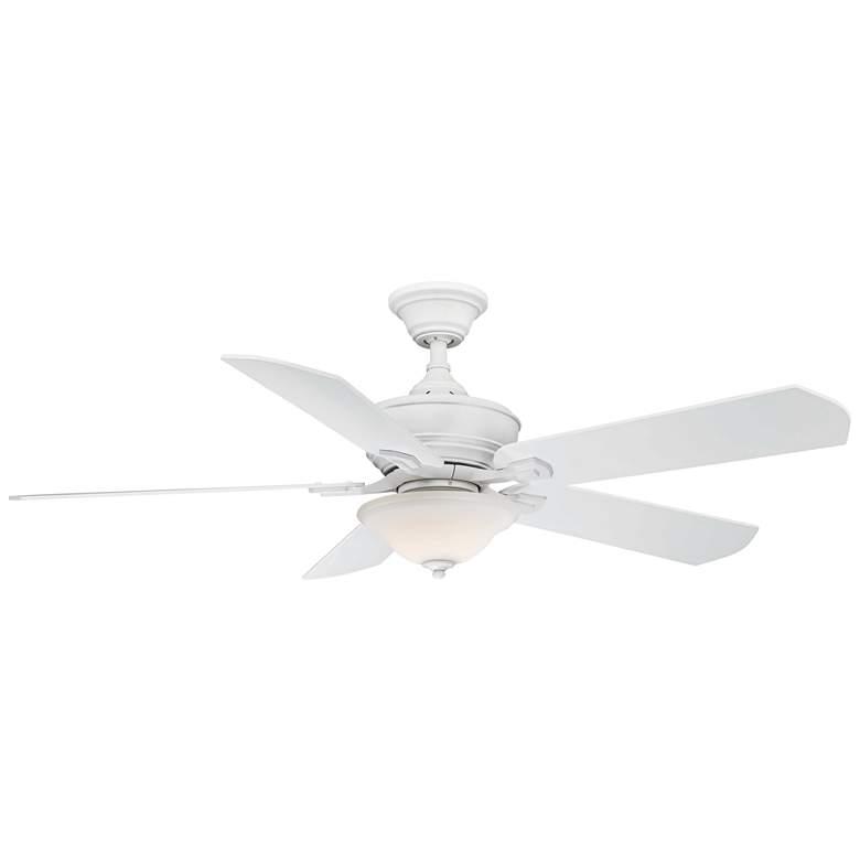 """52"""" Fanimation Camhaven V2 Matte White LED Ceiling Fan"""