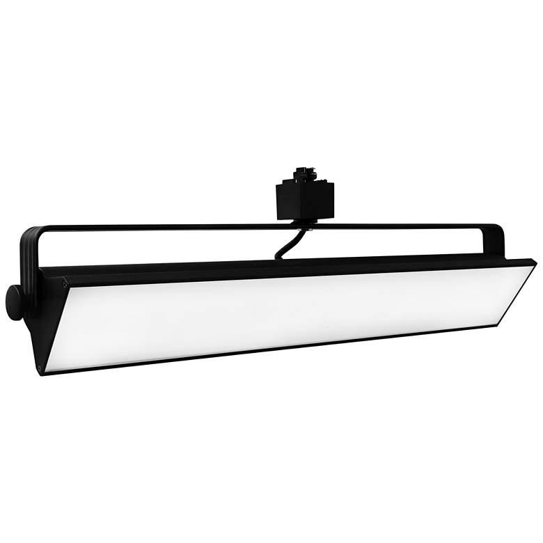 Elco LED Pipe Black 40 Watt 3000K Wall Washer Track Head