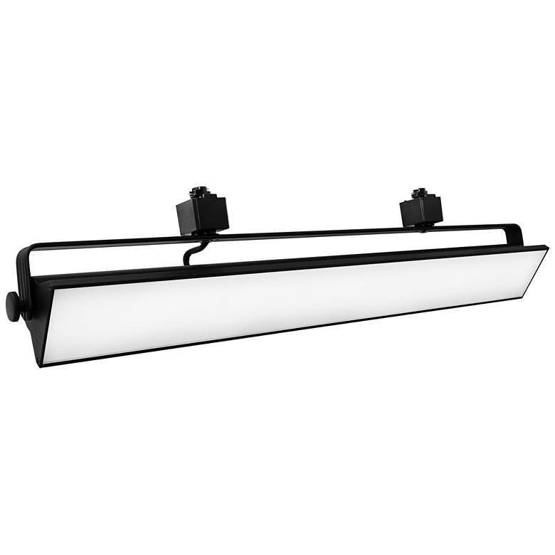 Elco LED Pipe Black 58 Watt 3000K Wall Washer Track Head