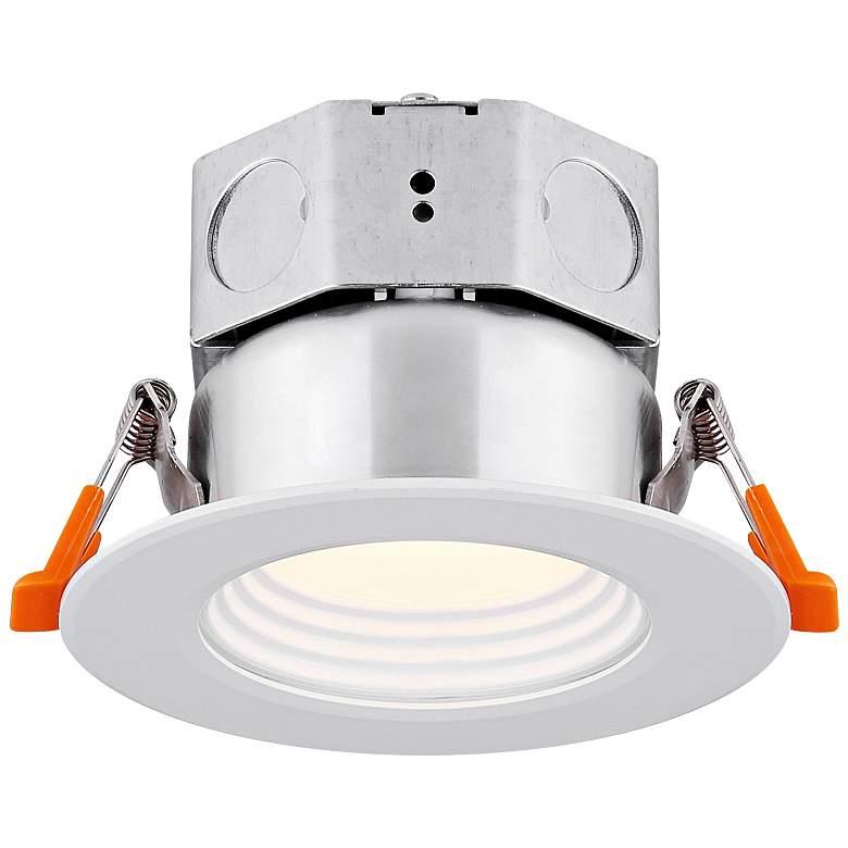 "Veloce 3"" White LED Baffle Downlight"