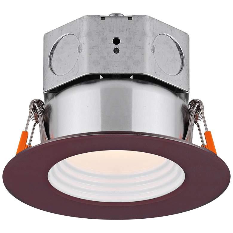 "Veloce 3"" Bronze LED Baffle Downlight"