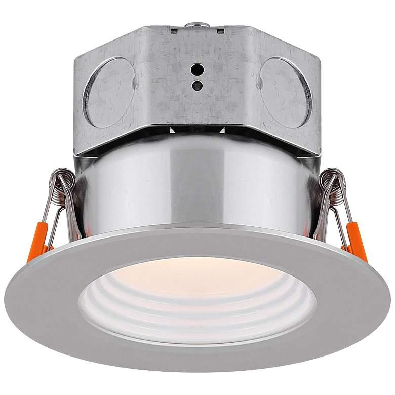 "Veloce 3"" Nickel LED Baffle Downlight"