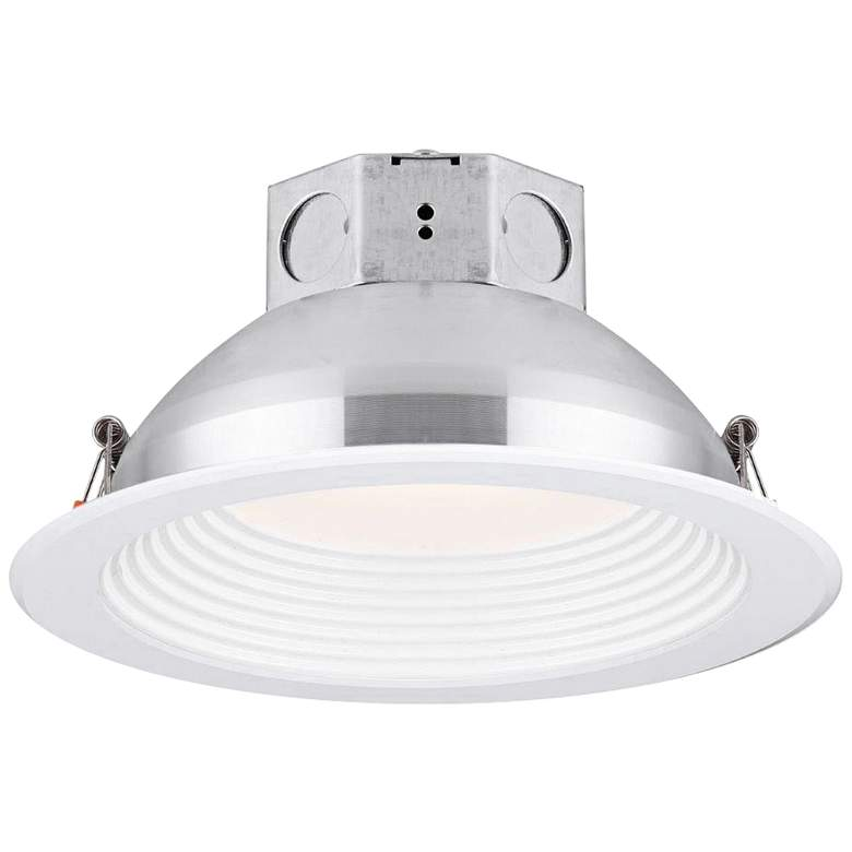 "Veloce 6"" White LED Baffle Downlight"