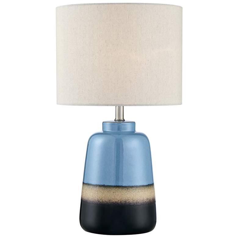 Lite Source Cinclare Two-Toned Ceramic Accent Table Lamp