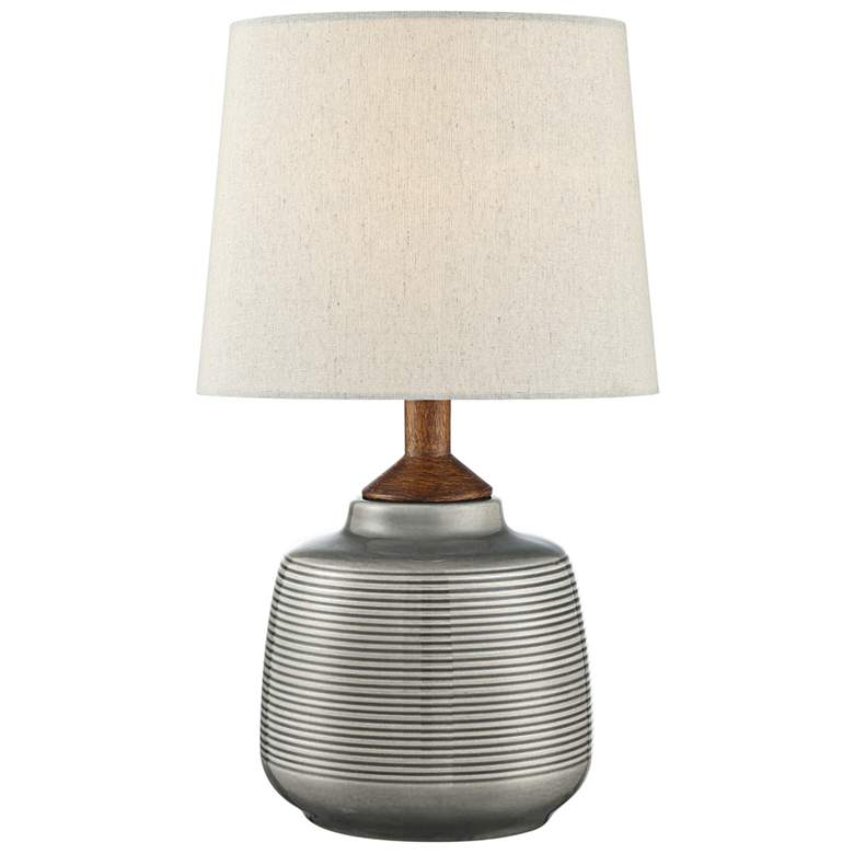 "Lite Source Lismore 17"" High Gray Ceramic Accent"