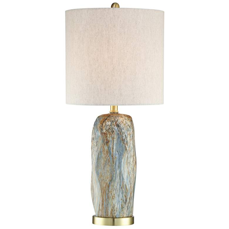 Lite Source Coliseo Slate Ceramic Table Lamp