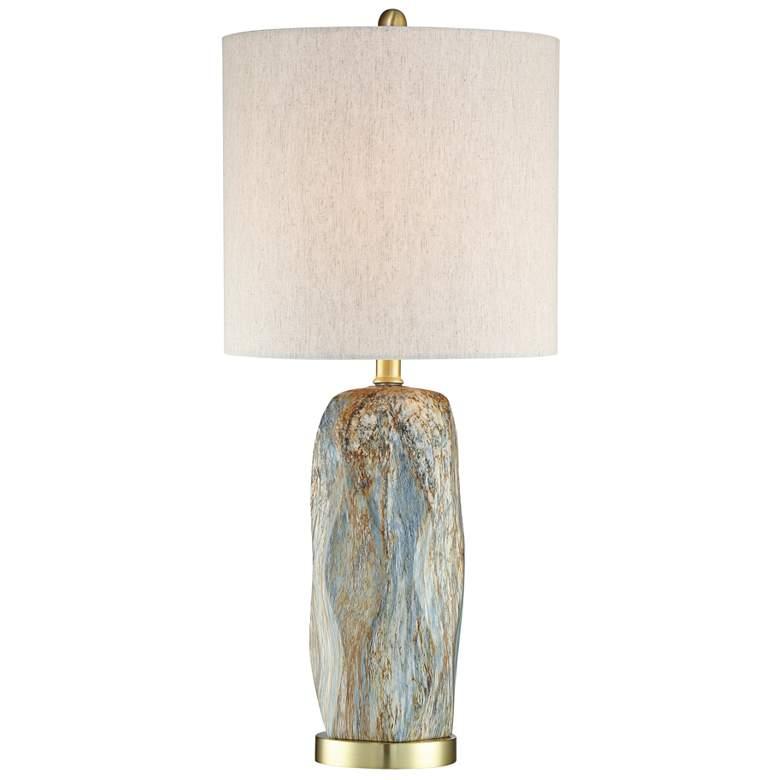Lite Source Coliseo Slate Ceramic Table Lamp