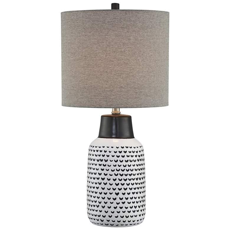 Lite Source Philan Two-Toned Ceramic Table Lamp