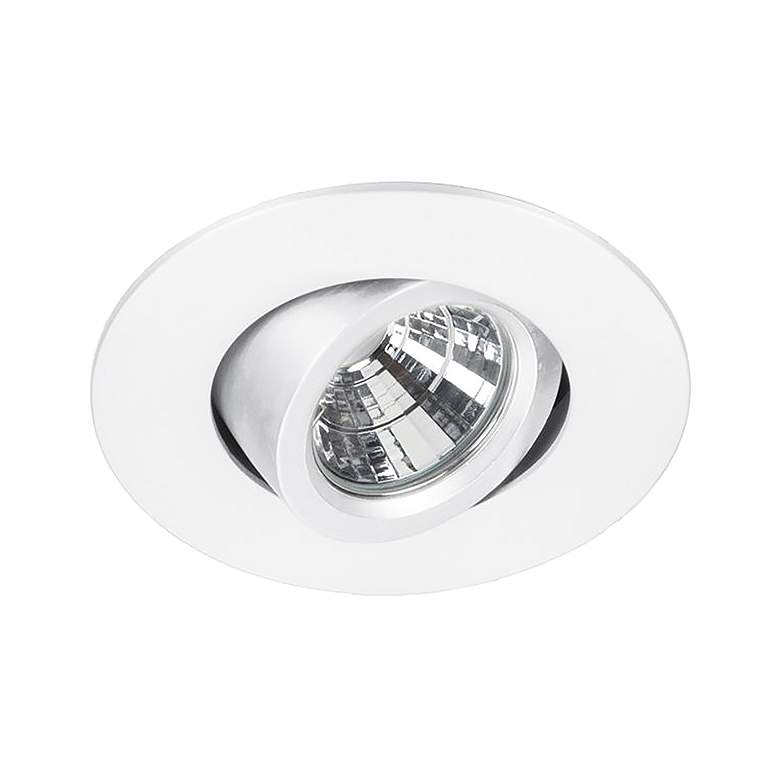 "WAC Oculux 2"" White LED Adjustable Complete Recessed Kit"