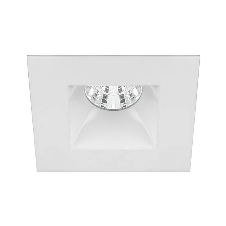 "Oculux 2"" Square White LED Reflector Complete Recessed Kit"