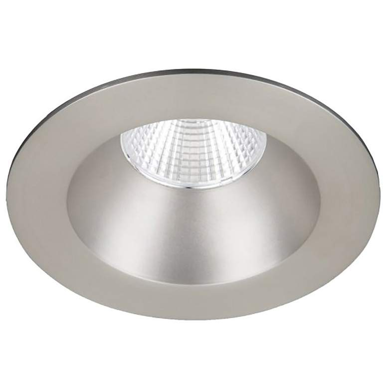 "WAC Oculux 3 1/2"" Round Nickel LED Reflector Recessed Trim"