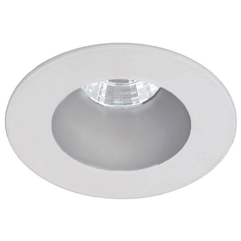 "Oculux 3 1/2"" Round Haze White LED Reflector Recessed Trim"