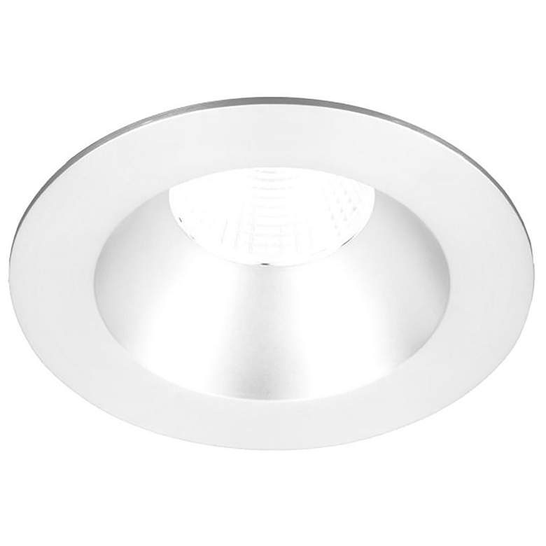 """Oculux 3 1/2"""" Round White LED Open Reflector Recessed Trim"""