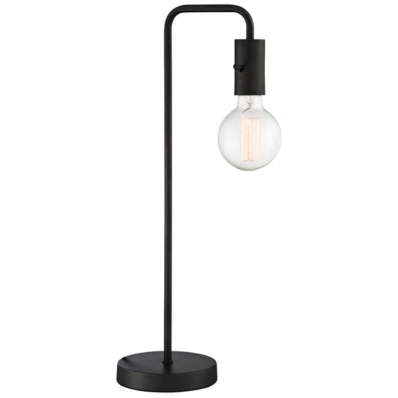 Lite Source Nilmani Black Downbridge Desk Lamp