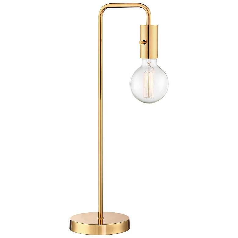 Lite Source Nilmani French Gold Downbridge Desk Lamp