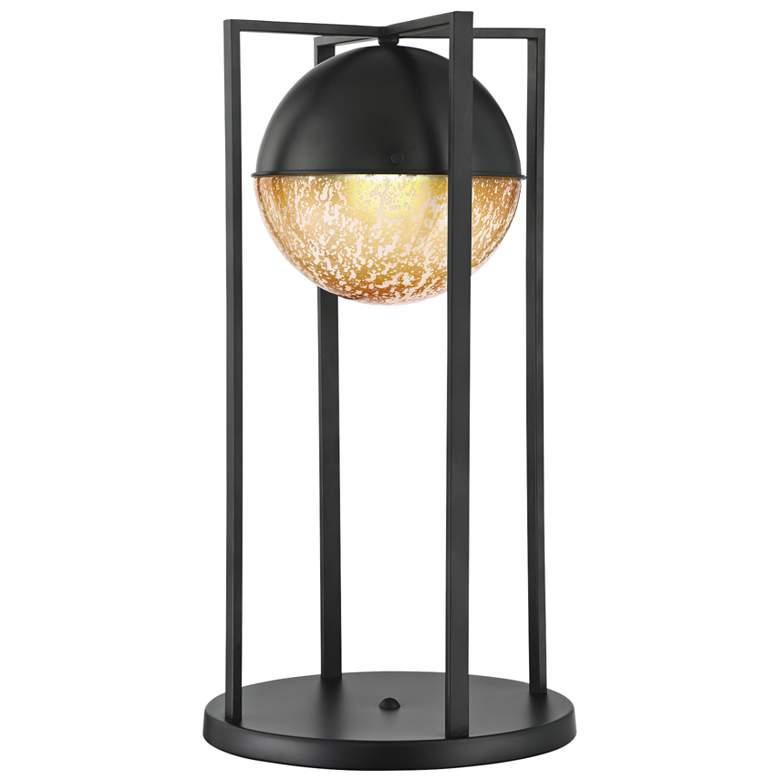 Lite Source Sophiline Matte Black Metal Desk Lamp