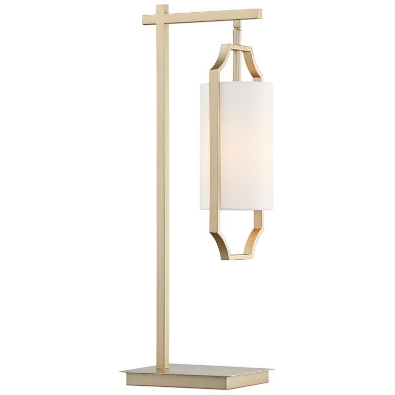 Lite Source Lenore Light Gold Hanging Lantern Desk