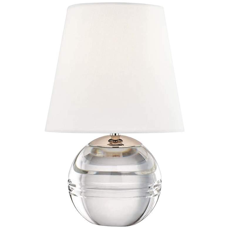 "Mitzi Nicole 12 3/4""H Clear Glass Sphere Accent"