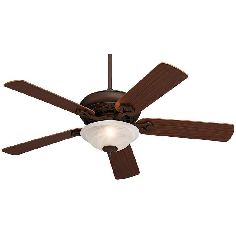 "52"" Casa Vieja® Trilogy Bronze LED Ceiling Fan"