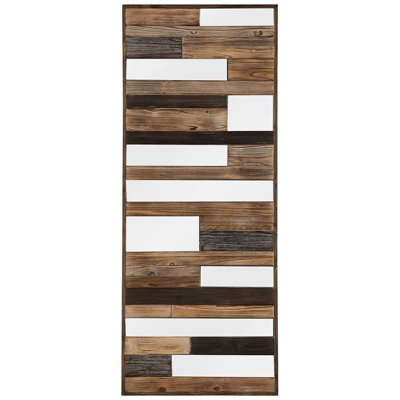 """Uttermost Kaine 60"""" High Wooden Wall Art"""