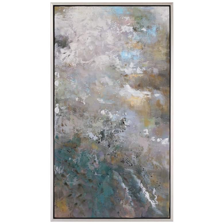 """Uttermost Roaring Thunder 49 3/4""""H Framed Canvas Wall Art"""