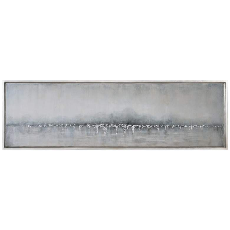 "Uttermost Tides Edge 71 1/4"" Wide Framed Canvas Wall Art"