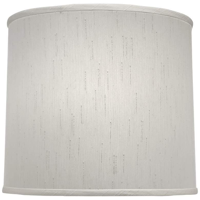 Stiffel Global White Deep Drum Lamp Shade 15x16x14