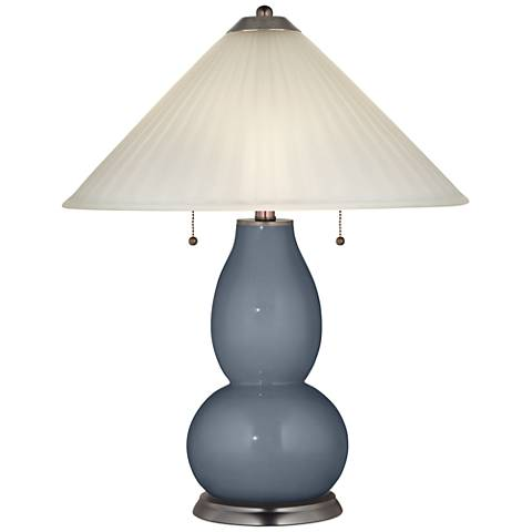 Granite Peak Fulton Table Lamp with Fluted Glass Shade