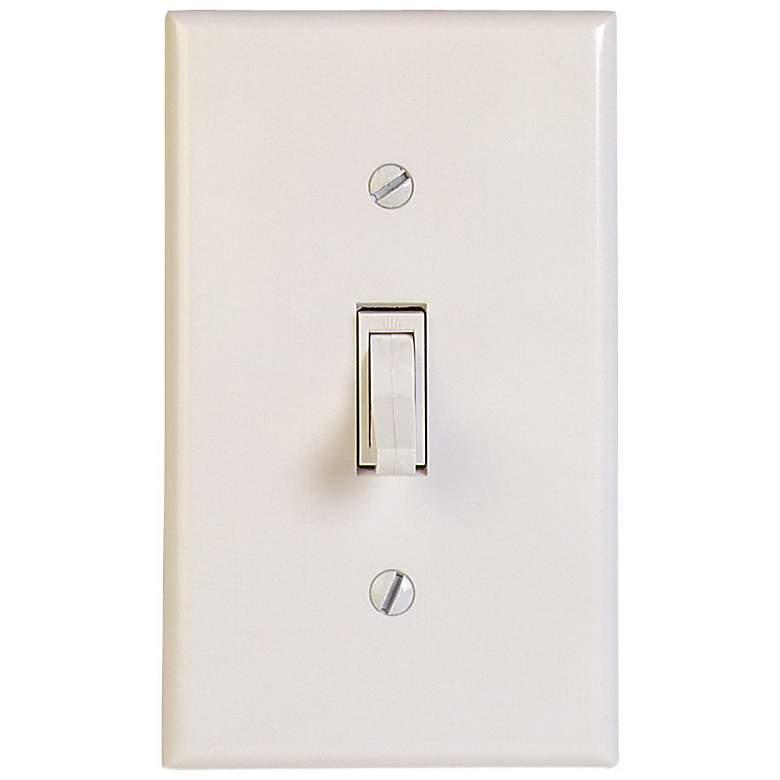 600W Leviton Toggle Switch -White
