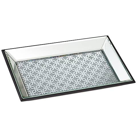 Marrakesh Silver Mirrored Tray