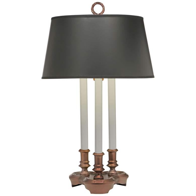 Stiffel Antique Old Bronze Desk Lamp