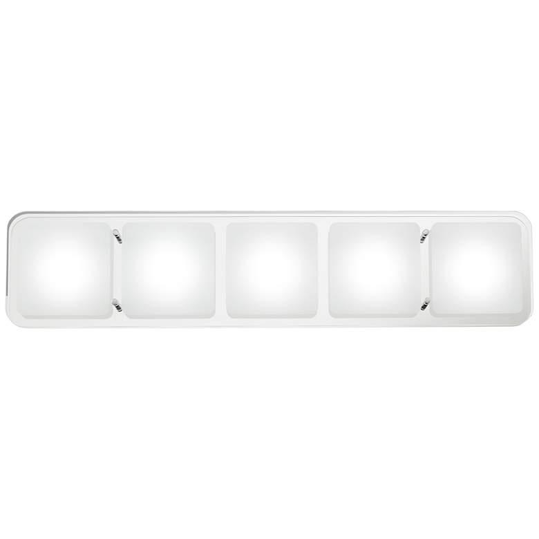 """Possini Euro Design Elin 25"""" Wide LED Bath Light"""