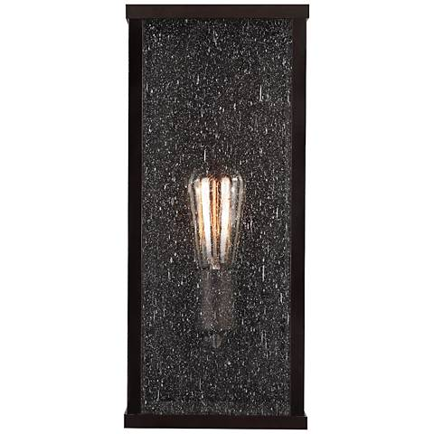 "Feiss Lumiere 15"" High Outdoor Wall Light in Bronze"