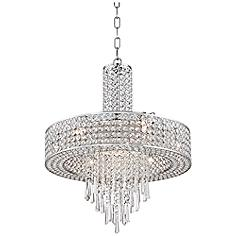 "Crystal Cascade 19 3/4"" Wide Crystal Pendant Chandelier"