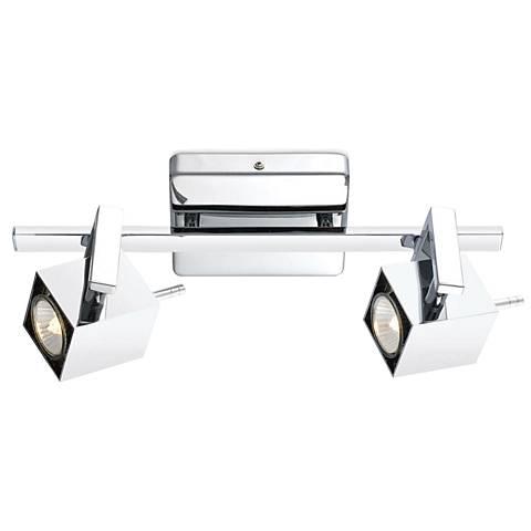 Eglo Manao 2-Spot Chrome Track Light Fixture