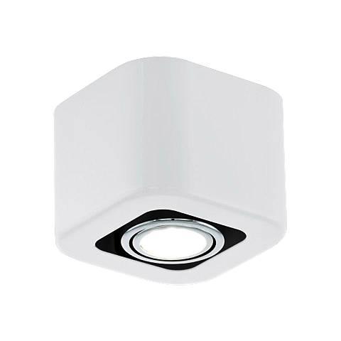 Eglo Torano Glossy White 1-Light Track Fixture