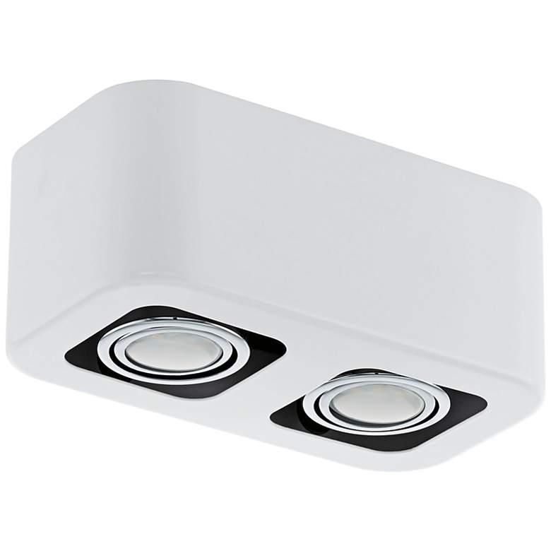 Eglo Torano Glossy White 2-Light Track Style Fixture