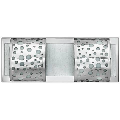 "Mira Fizz 16 1/4"" Wide Polished Chrome Bathroom Light"