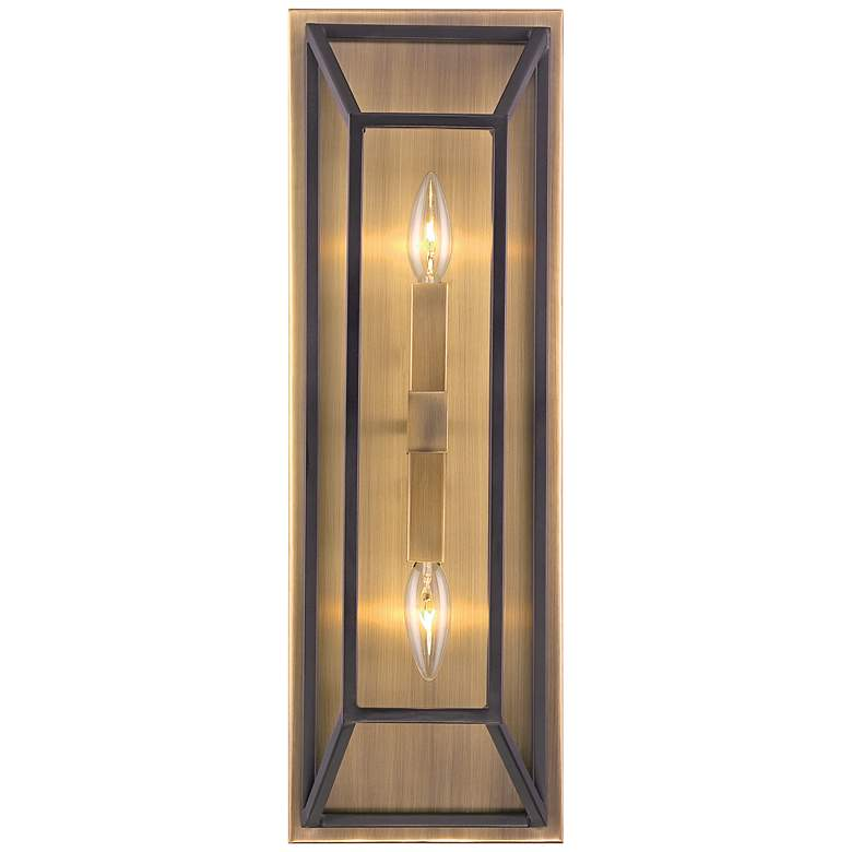 "Hinkley Fulton 22 1/2"" High Bronze 2-Light Wall Sconce"