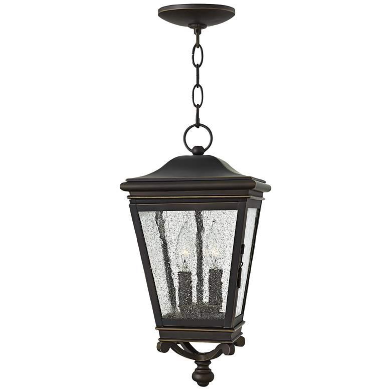 "Hinkley Lincoln 8 1/2"" Wide Bronze Outdoor Hanging Light"