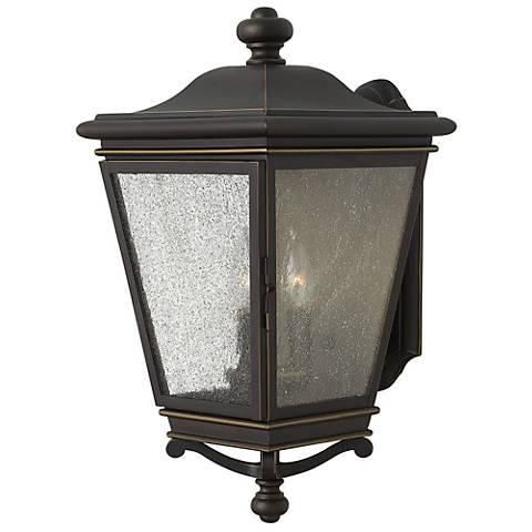 "Lincoln 19"" High Oil Rubbed Bronze Outdoor Wall Light"