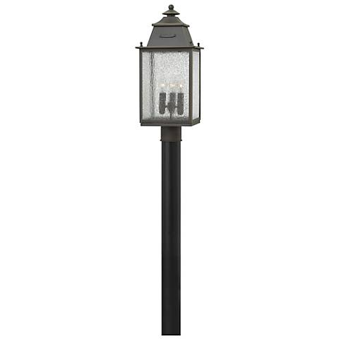 "Hinkley Chatfield 20 3/4"" High Bronze Outdoor Post Light"